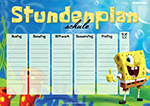 STUNDENPLAN SpongeBob Schwammkopf BonTon TV
